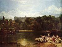 Вид на Замок Виндзор с Темзы