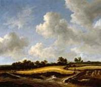 Пейзаж с пшеничным полем
