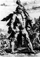 Геркулес (Г. Гольциус, 1589 г.)