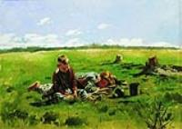 Мальчики в поле