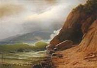 Грот на берегу моря.