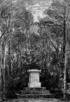 Кенотаф в память сэра Джошуа Рейнольдса в поместье Колеортон Холл