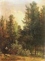 Полдень в лесу. 1870-е