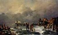 Берег замерзшего моря