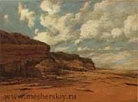 Скалистый берег. 1870-е