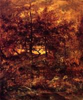 Осень в Жан-дю-Пари в лесу Фонтенбло