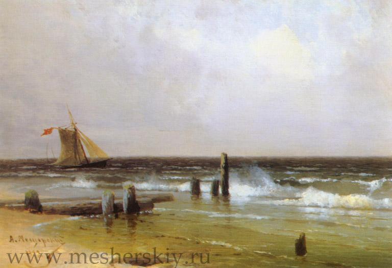 Морскойпейзаж.1899